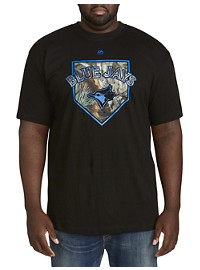 Majestic MLB Camo Team Tee