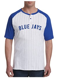 Majestic MLB Henley Shirt