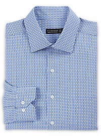 Rochester Non-Iron Small Check Dress Shirt