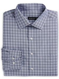 Rochester Non-Iron Tonal Dobby Plaid Dress Shirt