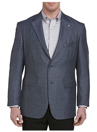 Oak Hill Jacket-Relaxer Heather Check Sport Coat – Executive Cut