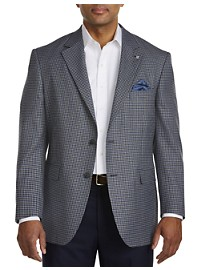 Oak Hill Jacket-Relaxer Mini Check Sport Coat