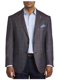 Oak Hill Jacket-Relaxer Tonal Herringbone Sport Coat