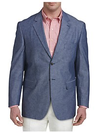 Oak Hill Jacket-Relaxer Chambray Textured Sport Coat – Executive Cut