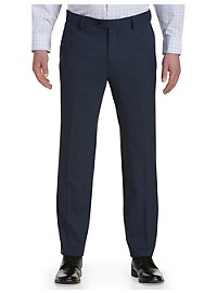 Synrgy Performance Mélange Flat-Front Suit Pants