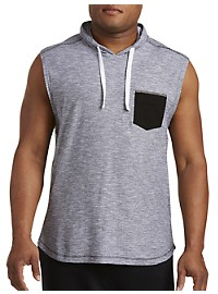 PX Clothing Sleeveless Hooded T-Shirt