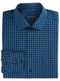 Rochester Non-Iron Medium Plaid Dress Shirt