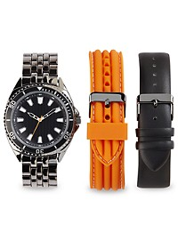 True Nation Analog Watch with Interchangeable Bracelets