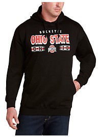 Collegiate Ohio State Black Pop Hoodie