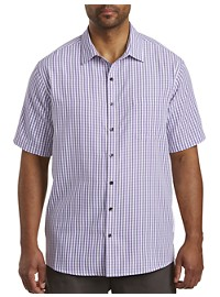 Synrgy Microfiber Check Sport Shirt
