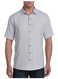 Synrgy Microfiber Patterned Sport Shirt