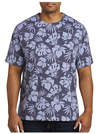 Harbor Bay Leaf Print T-Shirt