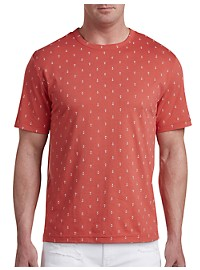 Harbor Bay Anchor Print No-Pocket Tee
