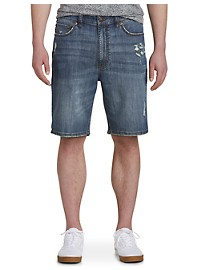 True Nation Athletic-Fit Denim Shorts