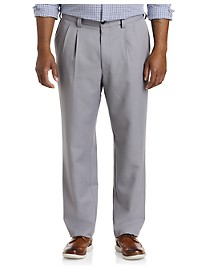 Oak Hill Waist-Relaxer Pleated Pants