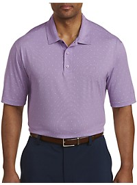 Reebok Golf Speedwick Micro-Print Polo