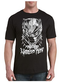 Marvel Comics Black Panther Warrior King Graphic Tee
