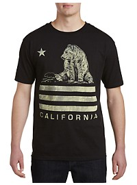 Cali Bear Graphic Tee