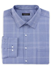 Synrgy Perfromance Large Plaid Dress Shirt