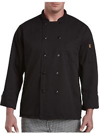 Red Kap Black Chef Coat