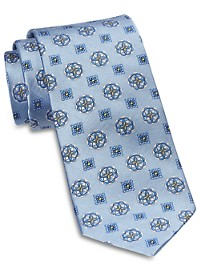 Rochester Designed in Italy Medium Mixed Medallion Silk Tie