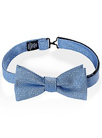 Bright Textured Solid Bowtie