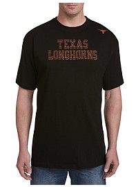 Collegiate University of Texas Black Pop Tee