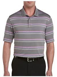 Reebok Golf Speedwick Heather Stripe Polo
