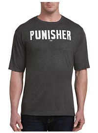 Retro Brand Punisher Graphic Tee