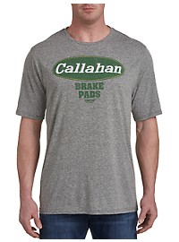 Retro Brand Callahan Brake Pads Graphic Tee