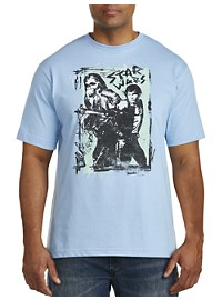 Star Wars Han Solo Smug Boys Graphic Tee
