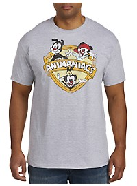 Vintage Animaniacs Logo Graphic Tee