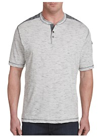 PX Clothing Textured Henley