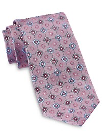 Rochester Designed in Italy Textured Pop Floral Silk Tie