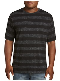 Harbor Bay Moisture-Wicking Stripe T-Shirt