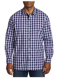Synrgy Plaid Sport Shirt