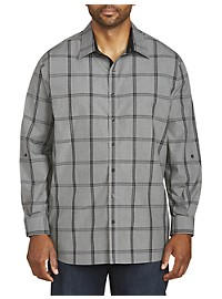 Synrgy Marled Windowpane Sport Shirt