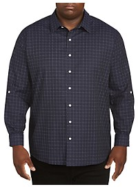 Synrgy Tattersall Plaid Sport Shirt
