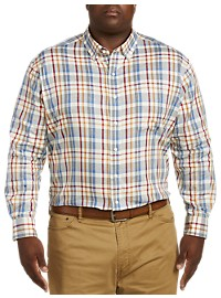Oak Hill Madras Plaid Sport Shirt