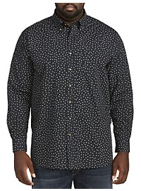 Harbor Bay Easy-Care Floral Sport Shirt
