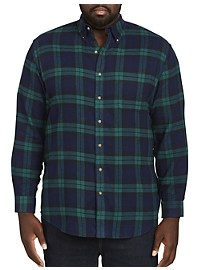 Harbor Bay Classic Flannel Shirt