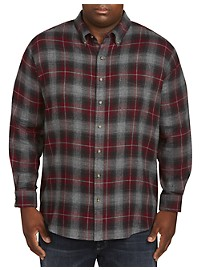 Harbor Bay Heathered Flannel Shirt