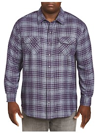 Harbor Bay Plaid Flannel Shirt