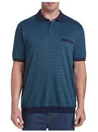 Harbor Bay Square Woven Polo Shirt