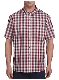 Harbor Bay Easy-Care Medium Plaid Sport Shirt