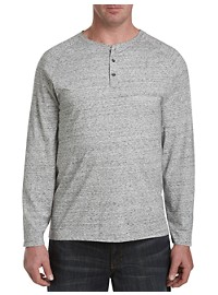 True Nation Long-Sleeve Henley Shirt