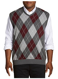 Harbor Bay Argyle Vest
