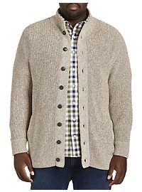 Oak Hill Marled Button-Down Cardigan