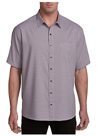 Harbor Bay Stripe Microfiber Sport Shirt