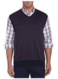 Oak Hill Birdseye Sweater Vest